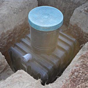 Накопичувальна ємність для каналізації на дачі