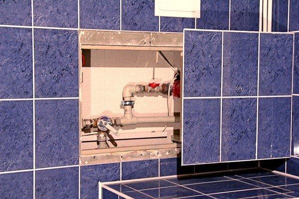 Смотровой люк для ванной своими руками