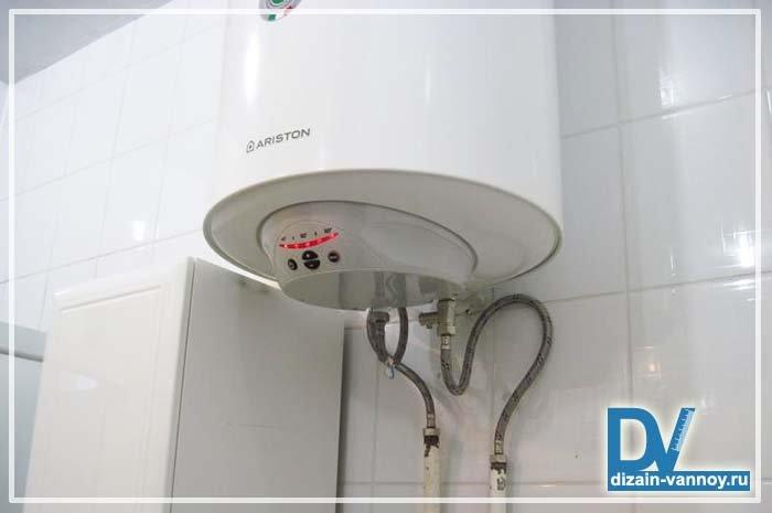 Установка водонагревателя в ванной комнате своими руками 79