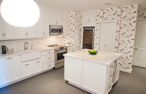 Птицы в интерьере кухни