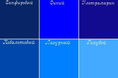 Как сделать светло-синий цвет 686