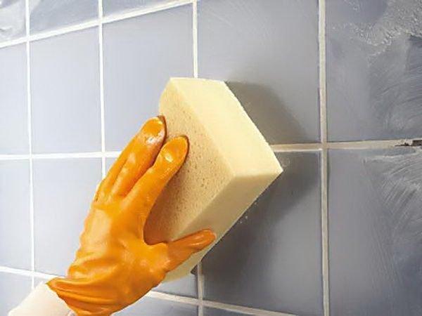 Как отмыть плитку в домашних условиях 125