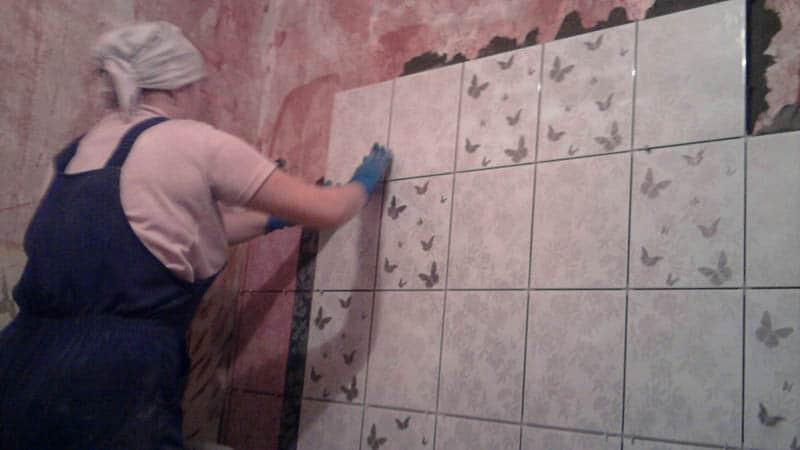 Плитка для ванной комнаты укладка своими руками 16