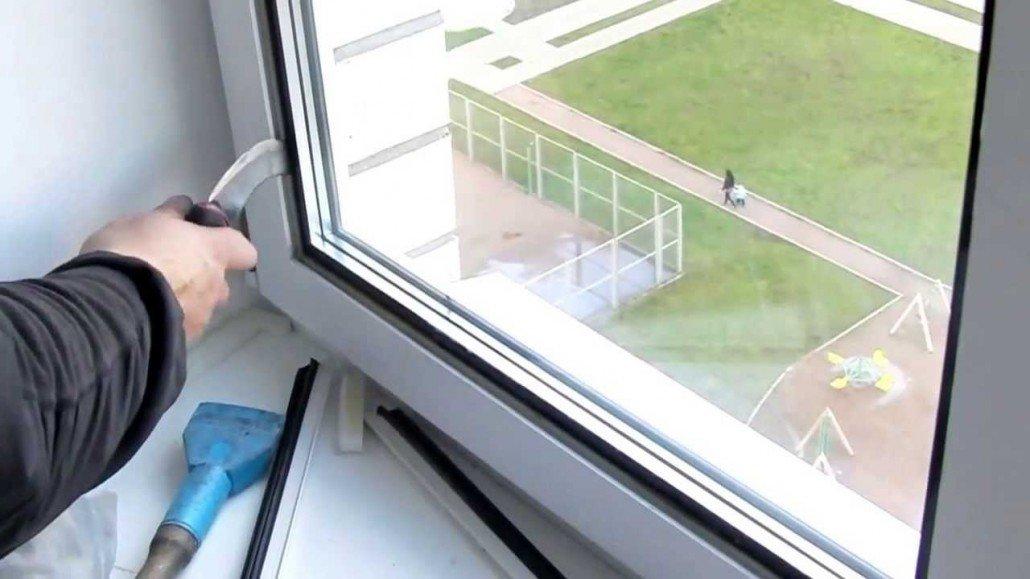 Замена стеклопакета в деревянных окнах своими руками 69
