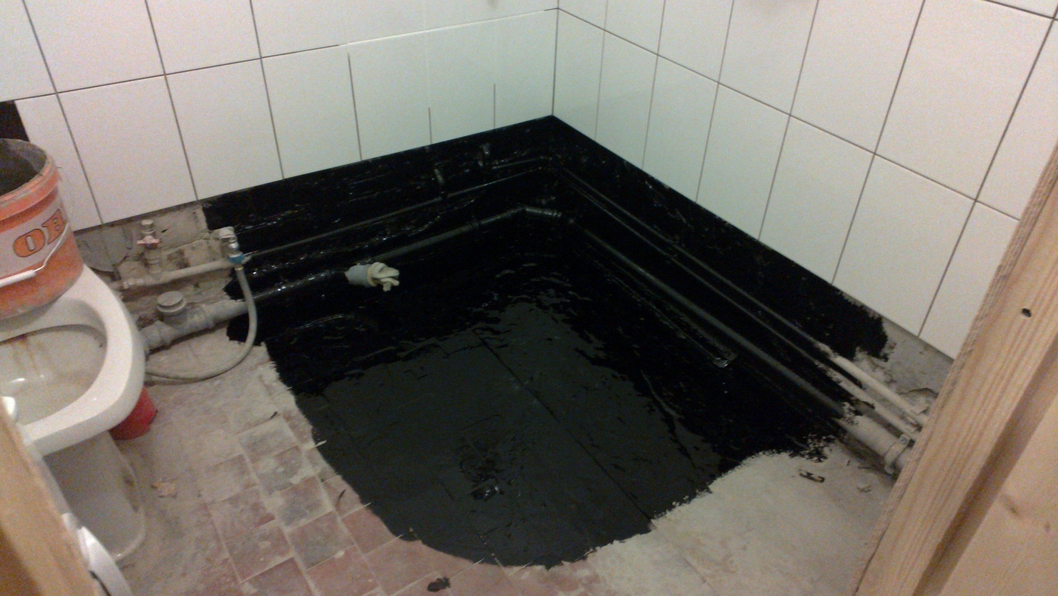 Как сделать гидроизоляцию в ванной в новостройке 186