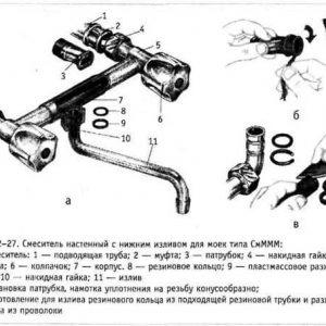 Ремонт змішувача своїми руками (одинважільного і двухвентильного)