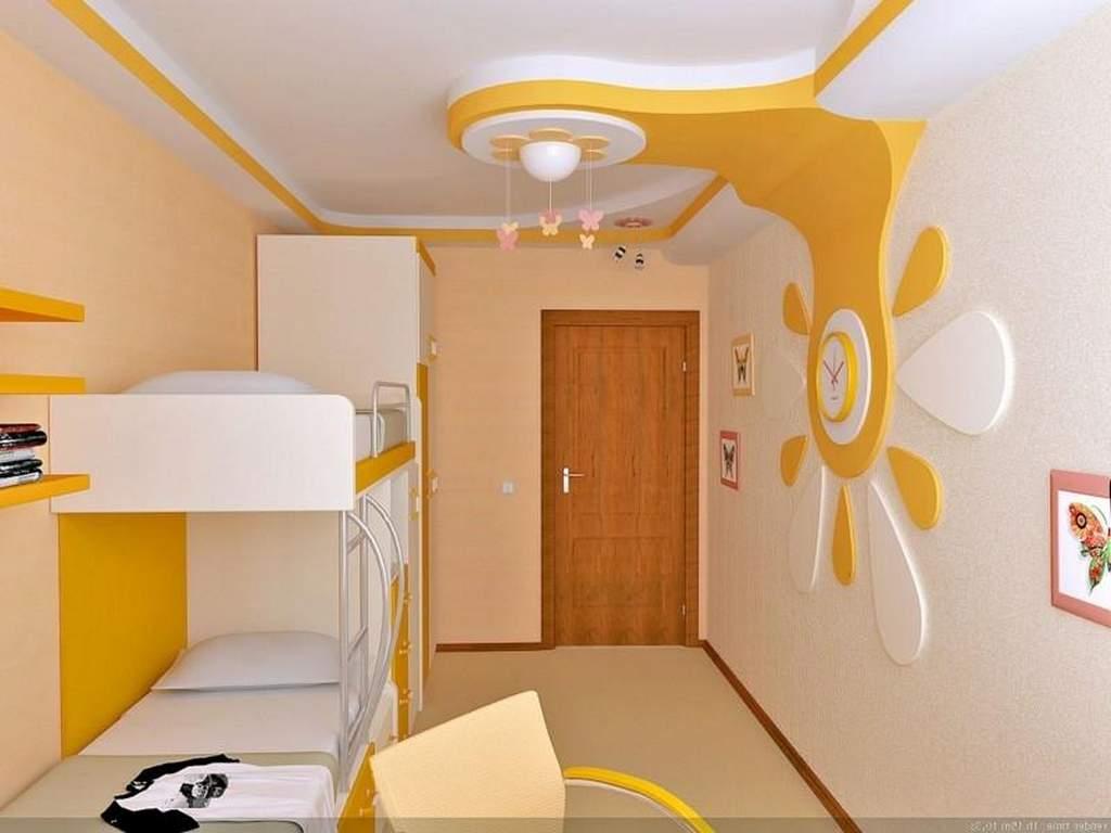 Как сделать потолок в детской комнате своими руками 95
