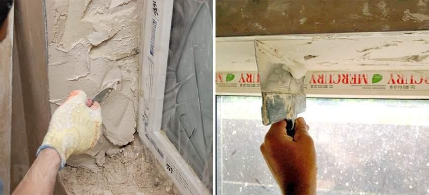 Як виконати шпаклівку укосів на вікнах? ремонт.