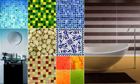 Types of bathroom tile