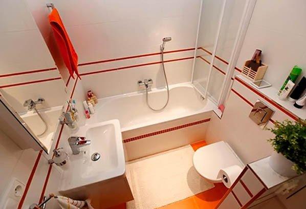 Дизайн ванной 3.5 м2 комнаты фото