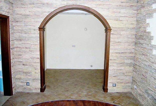 Декор для прямоугольной арки
