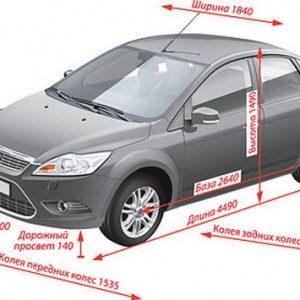 Технічні характеристики Форда Фокус 2: рестайлинг