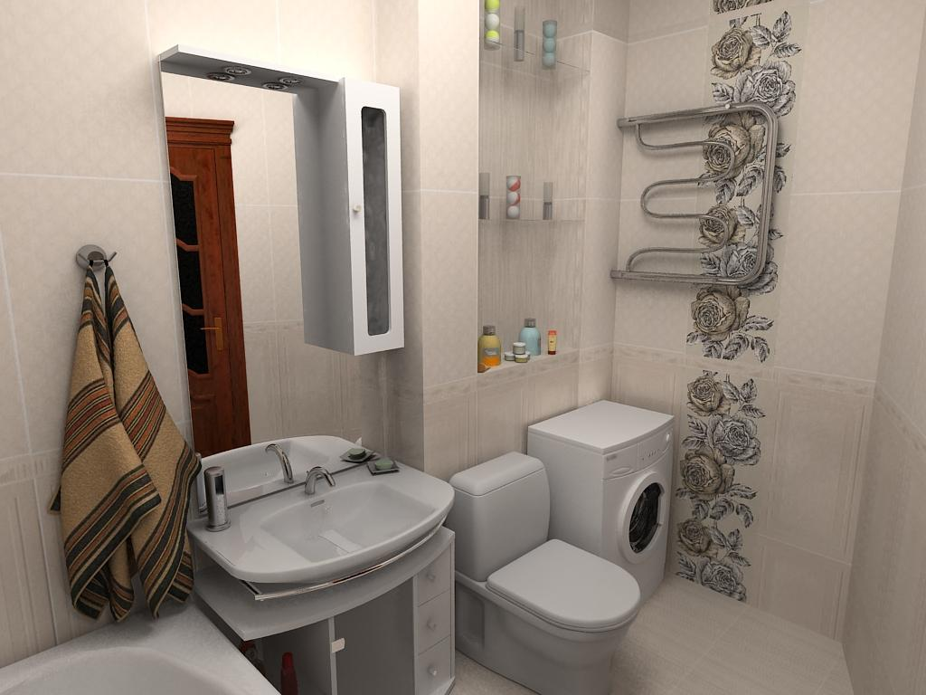 Ванная комната с туалетом своими руками 169