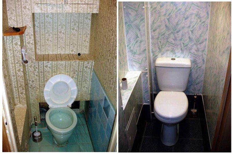 Косметический ремонт туалета
