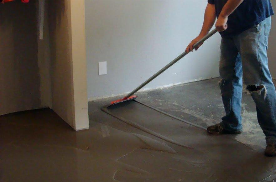 Стяжка бетонного пола под ламинат своими руками