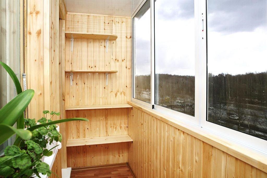 Отделку балкона и лоджий своими руками видео