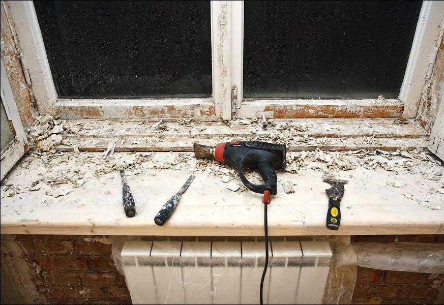 Реконструкция деревянных окон своими руками 22