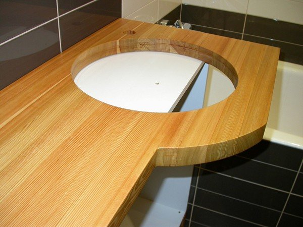 Столешница для ванны своими руками 51