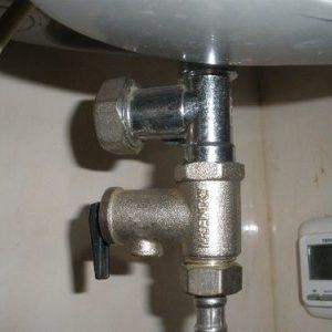 Запобіжний клапан для котла (водопідігрівача): інструкція, установка і принцип роботи