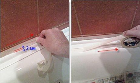 Как сделать углы в ванной из пластиковых  683