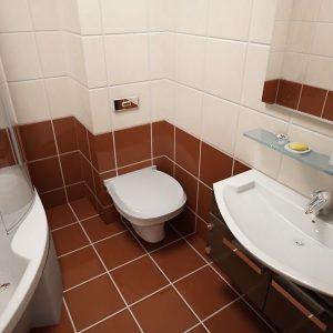 Як поліпшити зовнішнє оформлення ванної кімнати: приховуємо труби