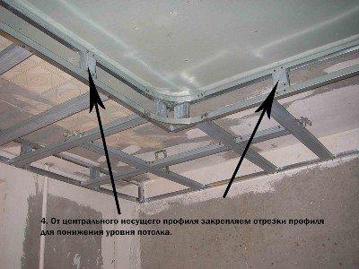 Как делать подвесной потолок своими руками 48