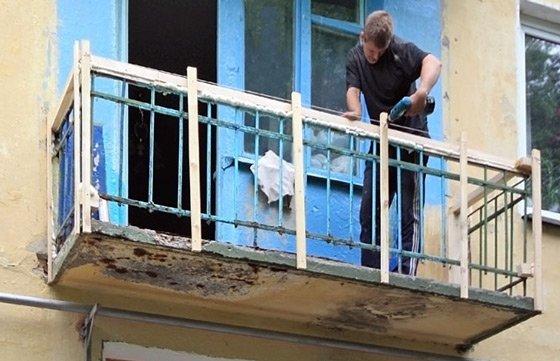 Оздоблення балконів сайдингом ремонт.