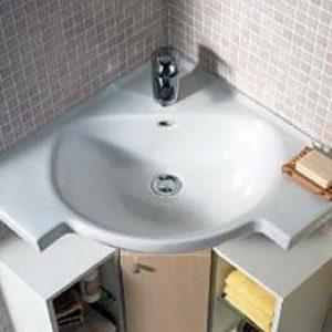 Кутова раковина з тумбою для ванної кімнати: як вибрати і як встановити?