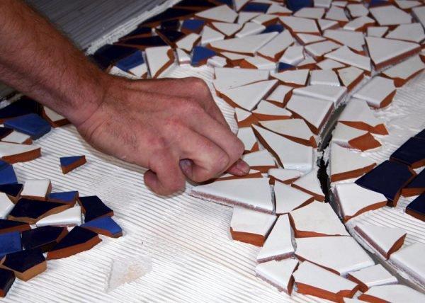 Что можно сделать на керамической плитке своими  344