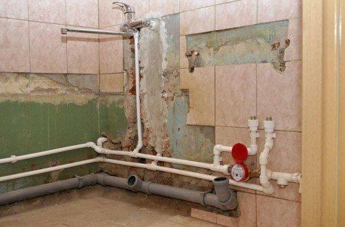 Водоснабжение ванной комнаты в частном доме своими руками 66