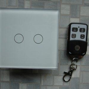 Установка дистанційного вимикача світла, оснащеного пультом