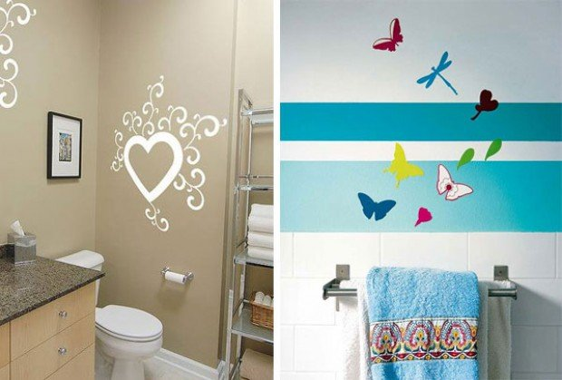 Покраска комнат дизайн своими руками