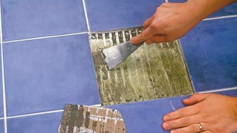 Реставрация кафеля в ванной своими руками