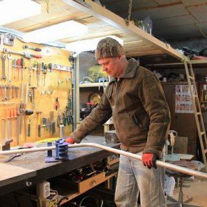 Як зігнути профільну трубу в домашніх умовах з трубогибом і без для теплиці і козирка