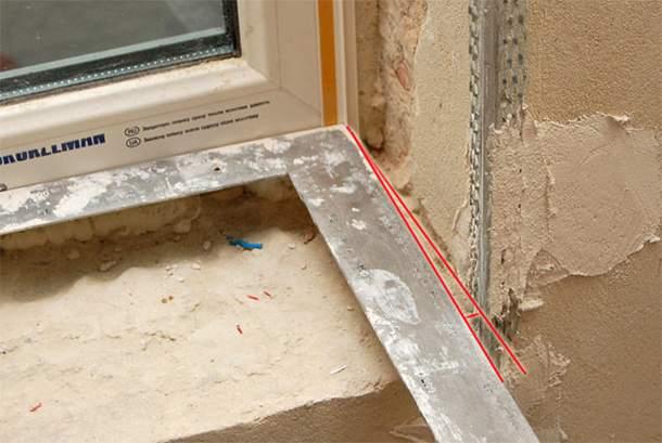 Как правильно сделать угол на стене 321