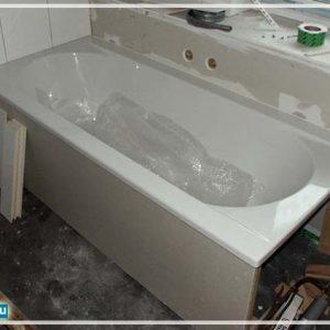 Установка акрилової ванни – інструкція по кріпленню і відео
