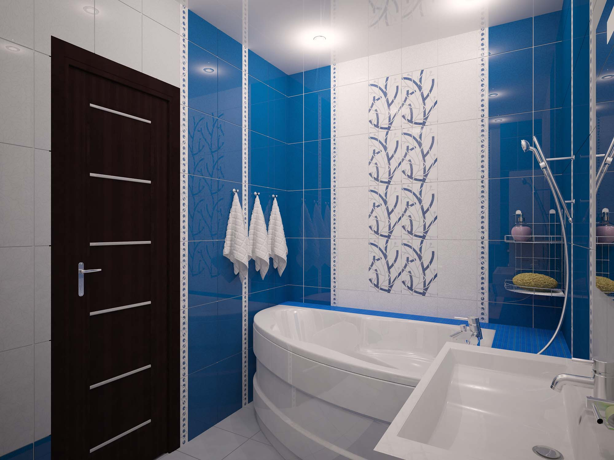 Ванной дизайн 7 м