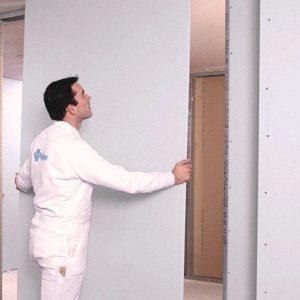 Як зробити гіпсокартонну перегородку з дверима своїми руками