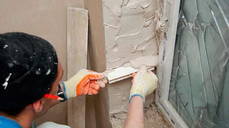 Как правильно штукатурить дом своими руками 28