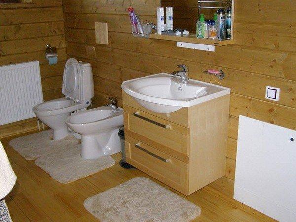 Ремонт ванной своими руками в деревянном доме