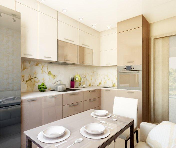 Кухня 9 кв метрів: дизайн, планування, меблі, поради ремонт.