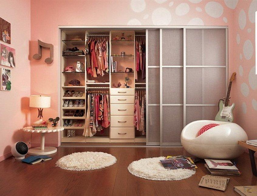 Шкаф купе в комнате дизайн