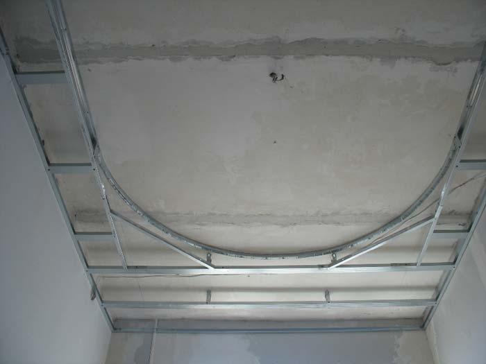 Круглый потолок из гипсокартона своими руками пошаговая инструкция с фото 55