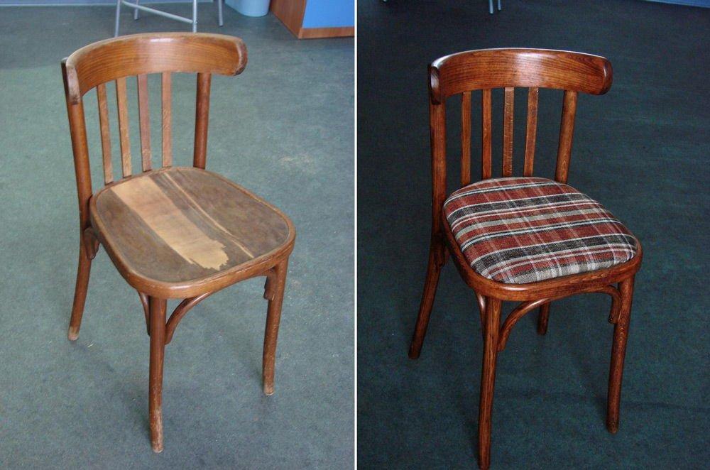 Отремонтировать стулья своими руками