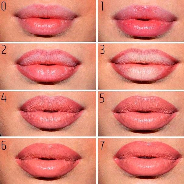 Как сделать губы объёмными в домашних условиях 502