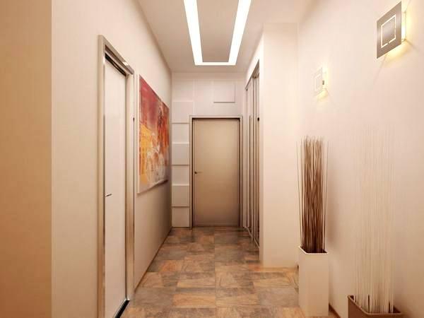 Цвет стен в маленьком коридоре