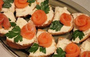 рецепти бутербродів святкових