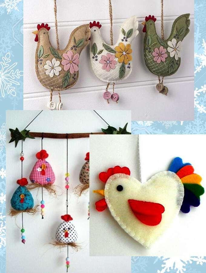 Новогодние символ года своими руками в детский сад