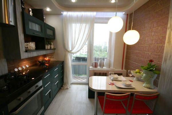 Интерьеры кухни 9 кв фото