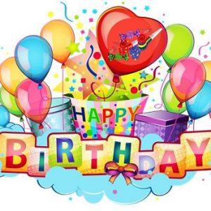 «З днем народження» англійською – як скласти побажання